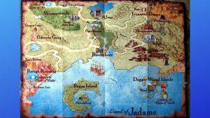 Might & Magic 8 Map