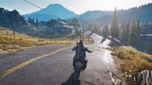 Days Gone drive across the map