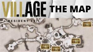 Map Resident Evil Village