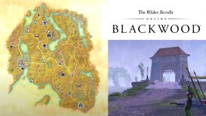Blackwood Elder Scrolls Map
