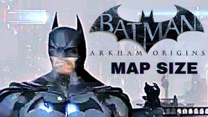 Batman Arkham Origins Map