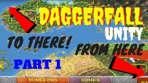 Daggerfall Unity Map