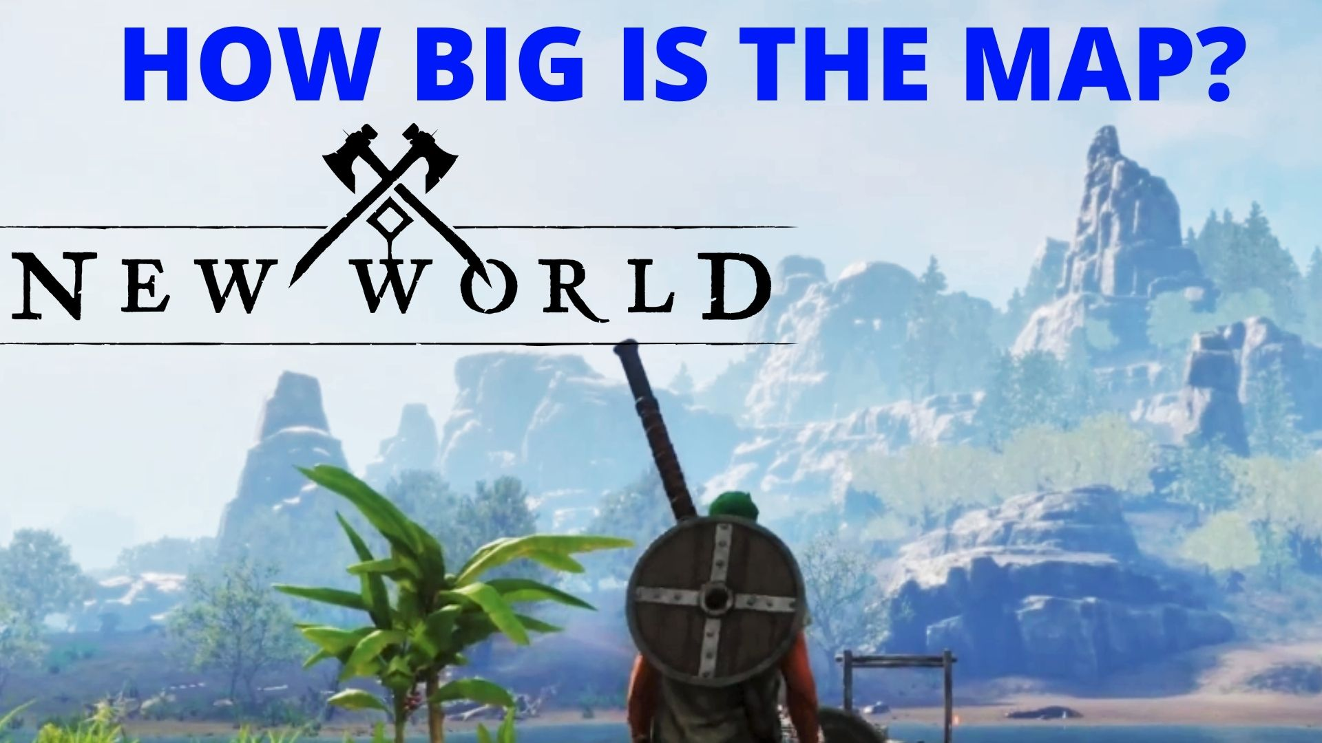 New World Map size